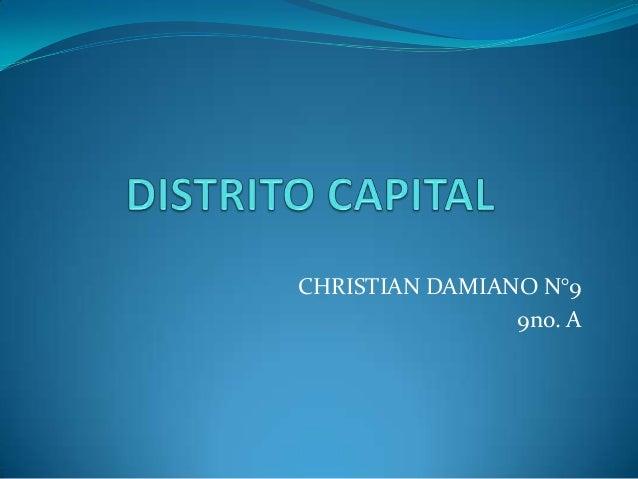 Distrito capital
