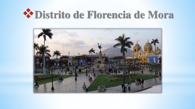 Distrito de Florencia de Mora
