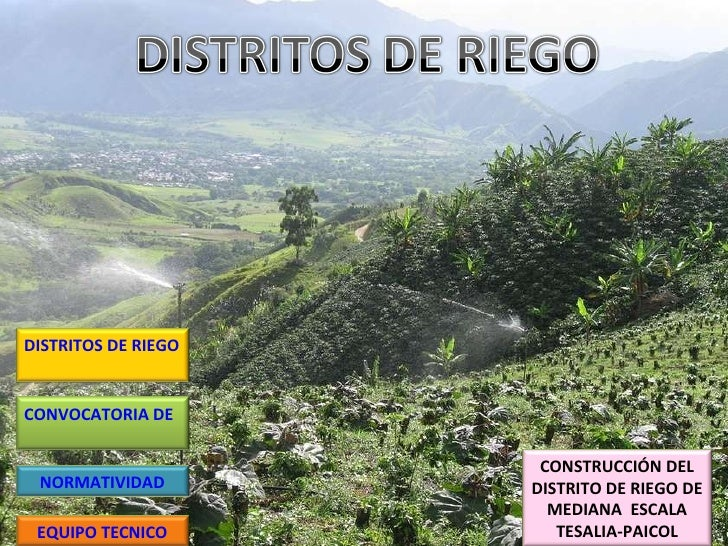 Distritos De Riego