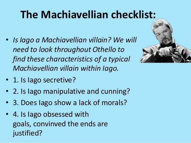 Othello Essay On Iago