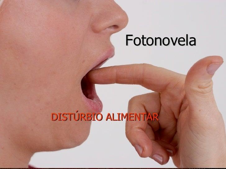 Fotonovela DISTÚRBIO ALIMENTAR
