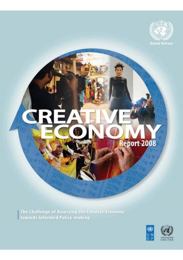 """UNCTAD, UNDP """"Creative Economy Report 2008"""""""