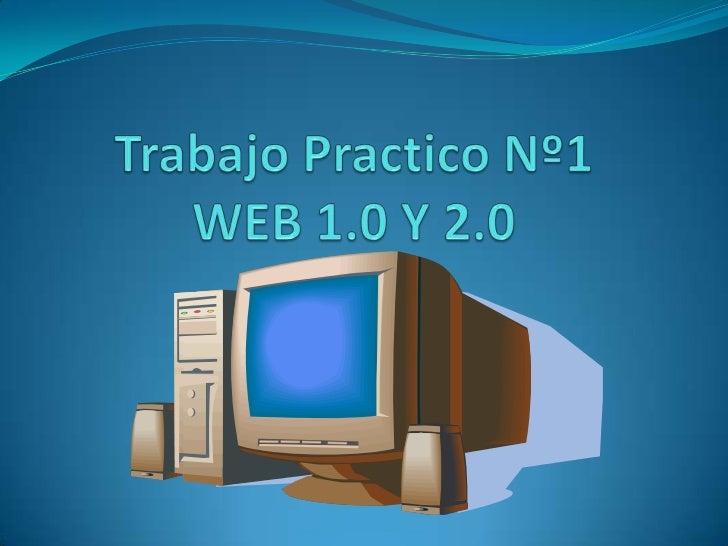 Diferencias entre Web 1.0 y Web 2.0