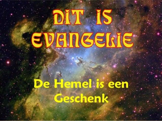 DIT IS EVANGELIE +
