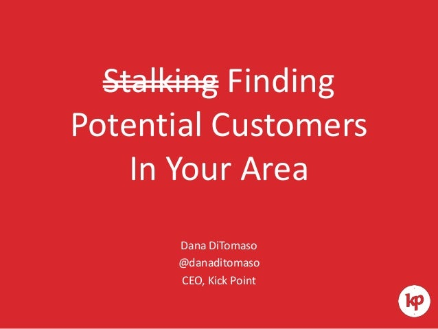 Finding Potential Customers in Your Area