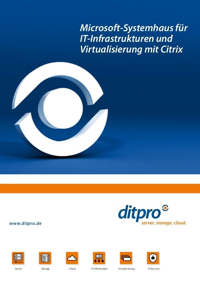 Vorstellung IT-Systemhaus ditpro