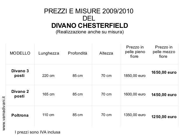 Chesterfield Divano Misure ~ Logisting.com = Varie Forme di Mobili ...