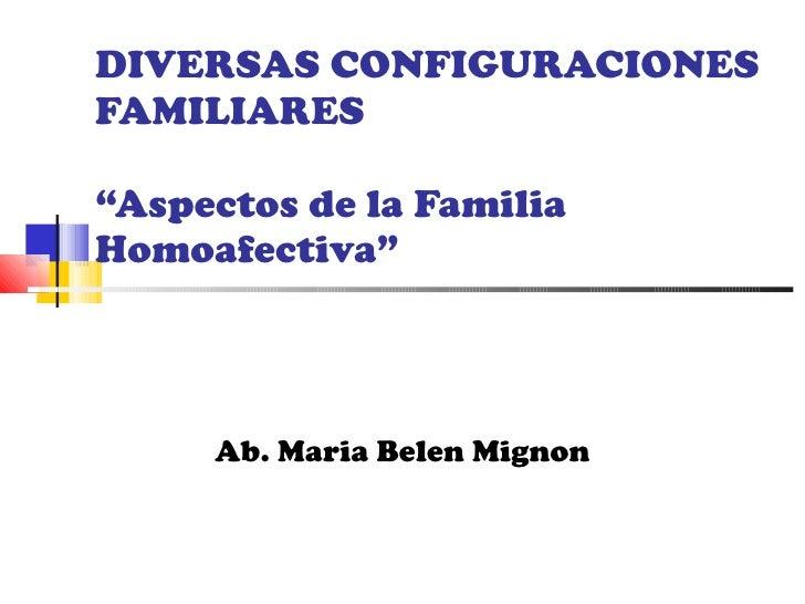 Diversas configuraciones familiares (1)