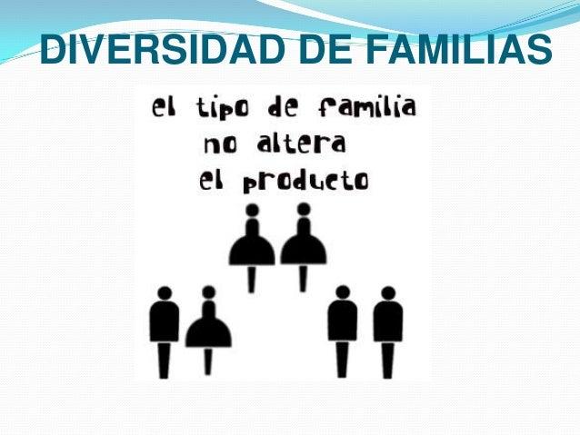 DIVERSIDAD DE FAMILIAS