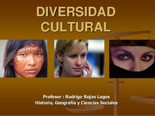 Diversidad cultural 2013