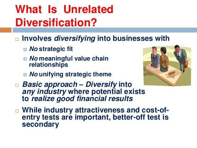 Market diversification strategy' examples