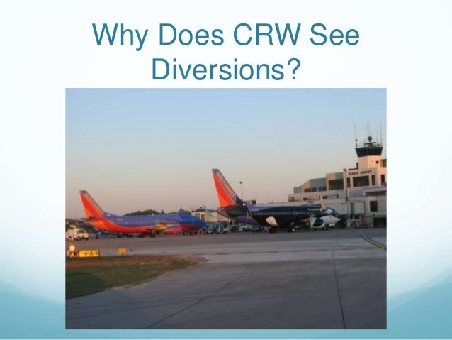 Why CRW Sees Diversions