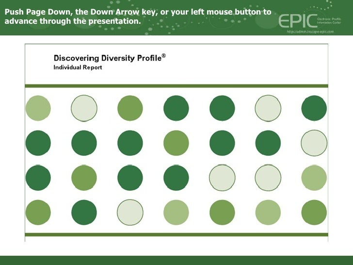 Diversity assessment-profile