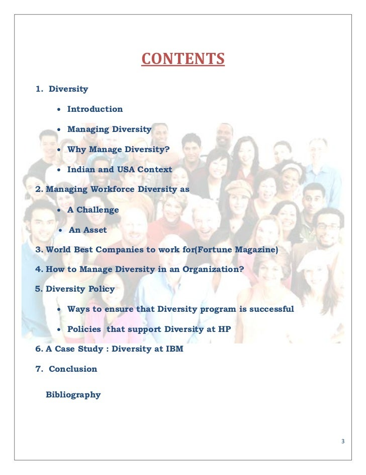 mgt 331 diversity essay Equality, diversity and inclusion in work with children and young people identify the current legislation and code of practice relevant to the promotion of equality and valuing of diversity equality is ensuring individuals or.