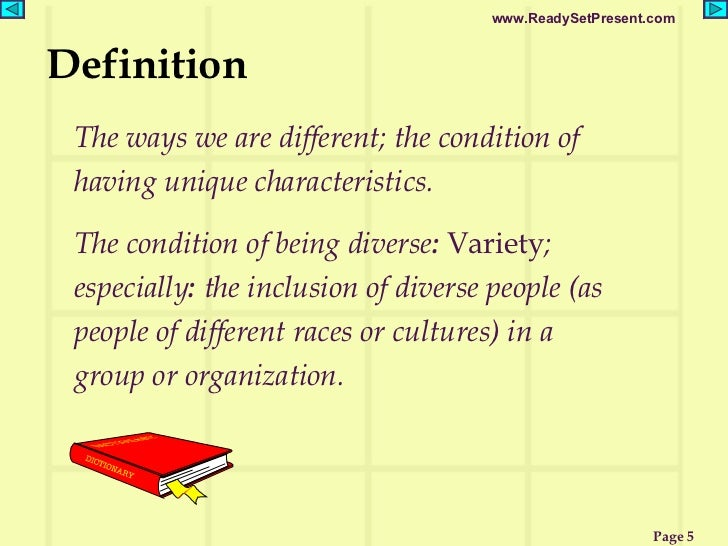 explain what is meant by the Mlekani wendie gondwe qcf level 2 unit shc 023 11 explain what is meant by diversity - diversity means state of being varied it pertains to the differences in culture, religion, disability, beliefs and attitudes of each individual in any group of people.