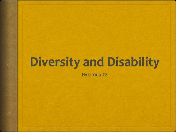 Diversity And Disability