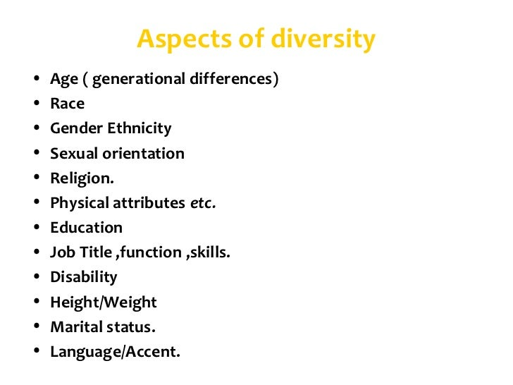 Aspects Impacts Generational Diversity essays and research papers