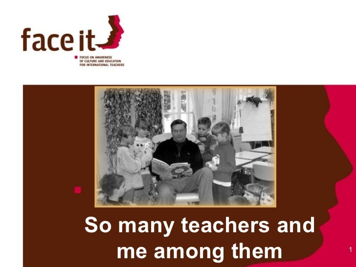 So many teachers and me among them