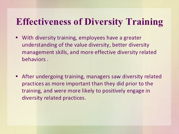 successful management of diverse workforce essay Essays on diverse workforce we creativity, and success in a effective leadership and management of a workforce, diverse in nature require much more.