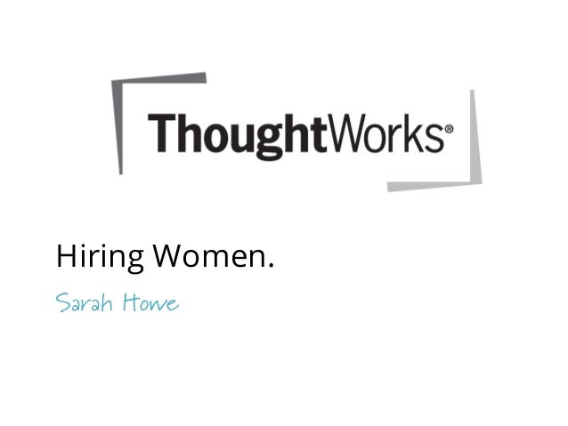 Attracting and Hiring more Women in your Organisation