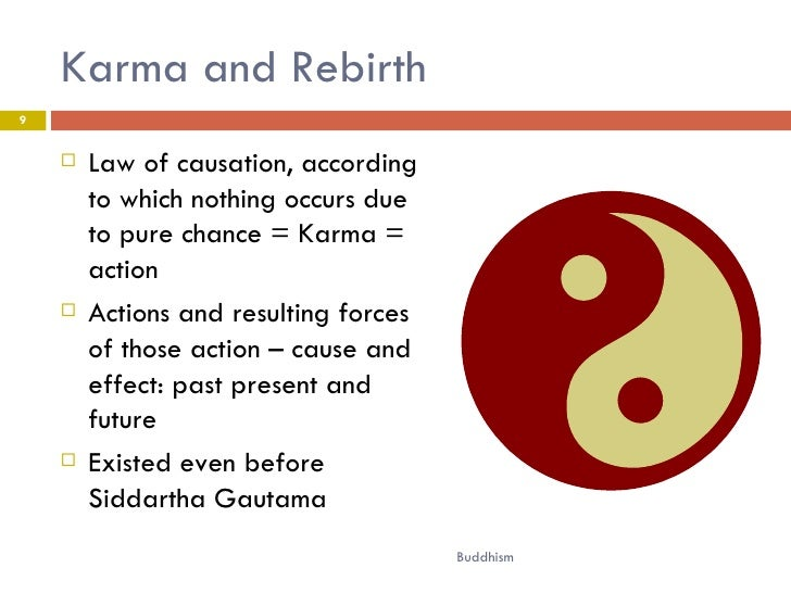 an understanding of the karmic theory as a buddhist concept Quantum buddhism: dancing in emptiness - reality revealed at the interface of quantum physics and buddhist philosophy.