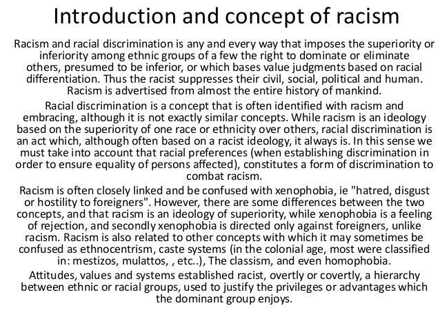 Diversity Project: Racism