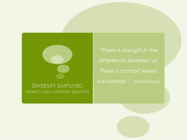 Diversity Simplified: Diversity Leadership Academy 2012: Capstone Presentation