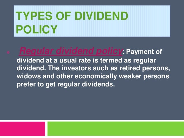 determinants of dividend policy the case The determinants of corporate dividend policy in pakistan  benefit of control in the case of  the determinants of dividend policy in the us manufacturing and .
