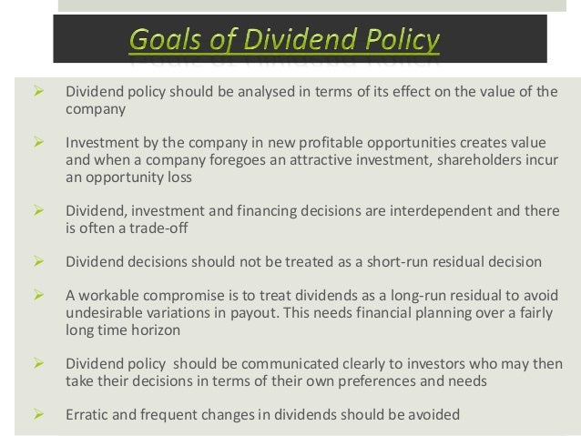 essays dividend policy theories Dividend is a form of payment made to shareholders by an organization it is a part of profits paid out to shareholders when a company earns a profit the money.