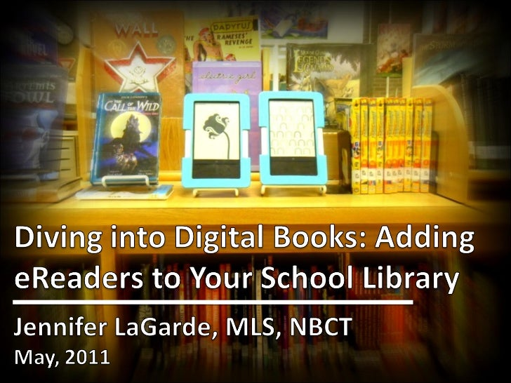 Diving Into Digital Books:  TL Virtual Cafe 5/2/2010