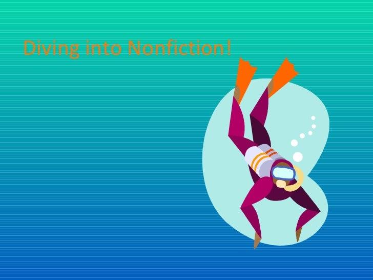 Diving into Nonfiction!