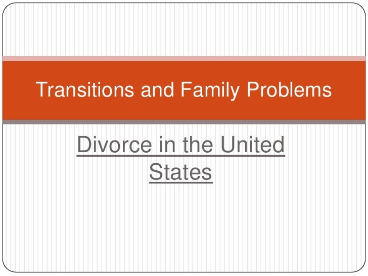 Divorce Sociology