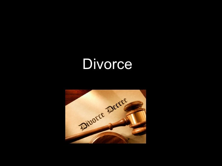 Christians and Divorce