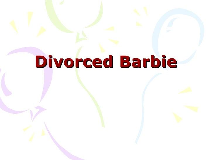 Divorced Barbie