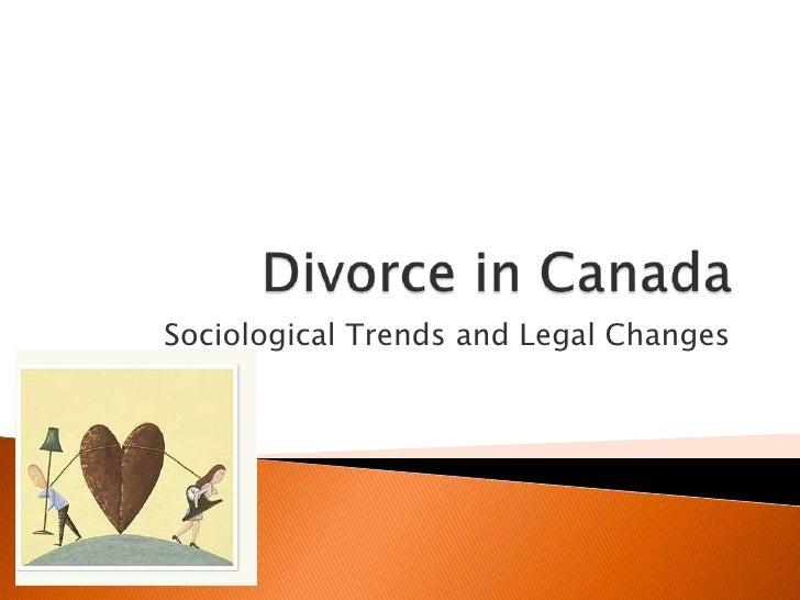 HHS 4M1 - Divorce in Canada