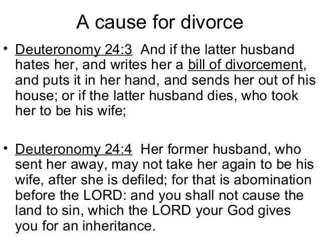 divorce prevention T god does not permit divorce just because a mate is not saved—the unbeliever becomes sanctified through the believing spouse and could become a christian.