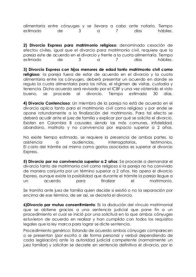 Divorcio Matrimonio Catolico Ante Notario : Divorcio y cesacion de efectos civiles en el matrimonio