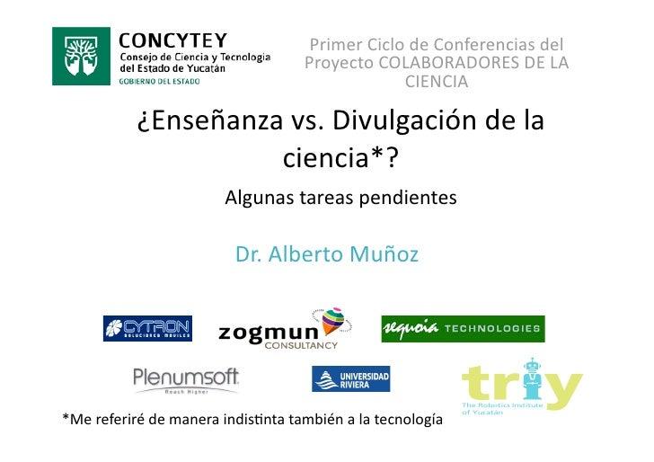 PrimerCiclodeConferenciasdel                                    ProyectoCOLABORADORESDELA                        ...