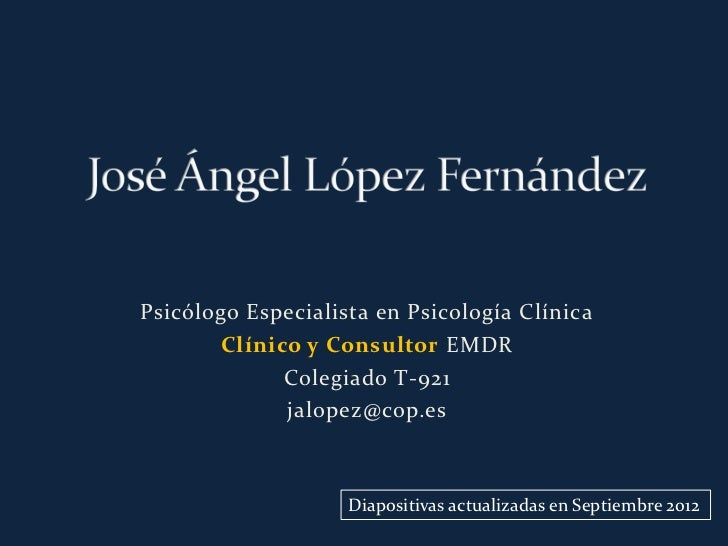 Divulgacion sobre emdr canarias por jose angel lopez sep2012 manual