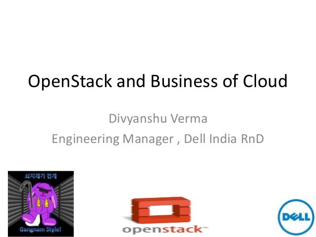 OpenStack & business of cloud