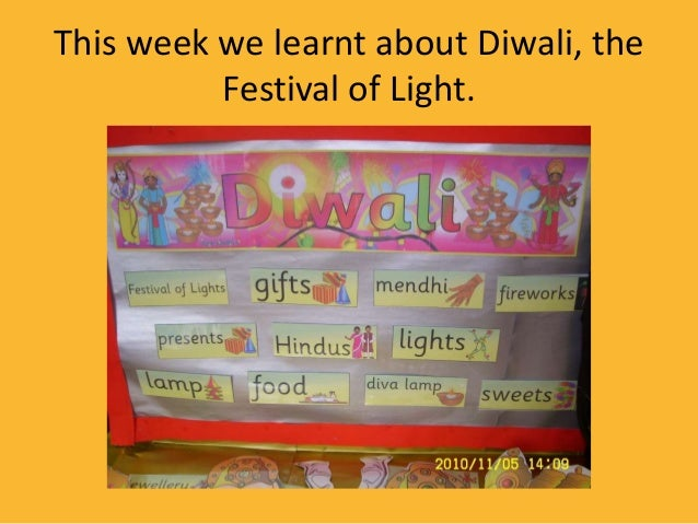 This week we learnt about Diwali, the Festival of Light.