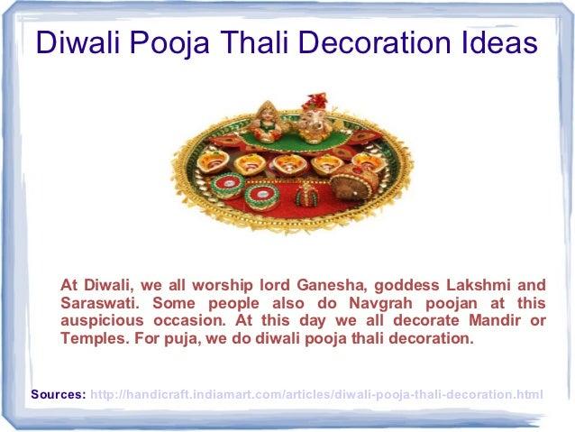 Diwali pooja thali decoration ideas for Aarti thali decoration ideas