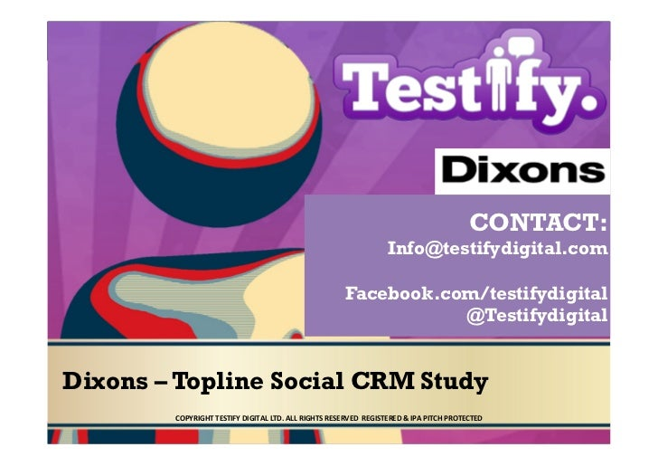 CONTACT:                                                                                               Info@testifydigital...