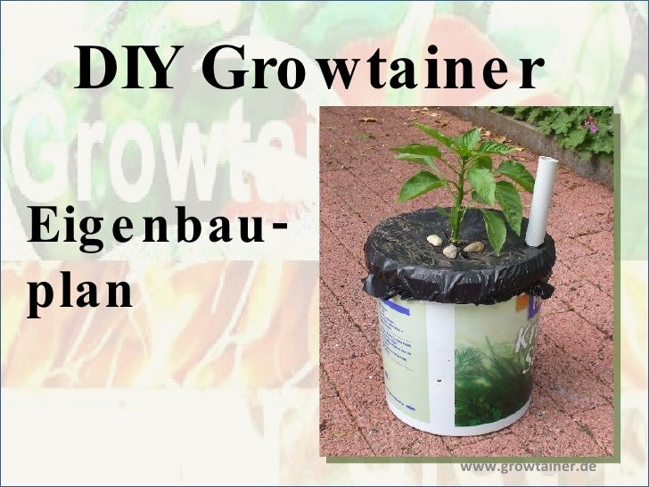 DIY Growtainer Eigenbau- plan www.growtainer.de