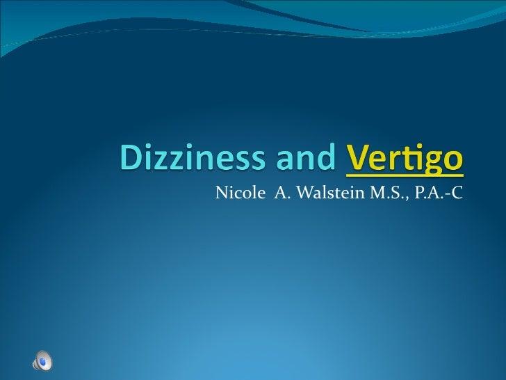 Nicole  A. Walstein PA-C