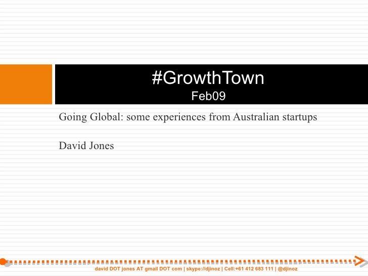 Dj Growthtown Feb09
