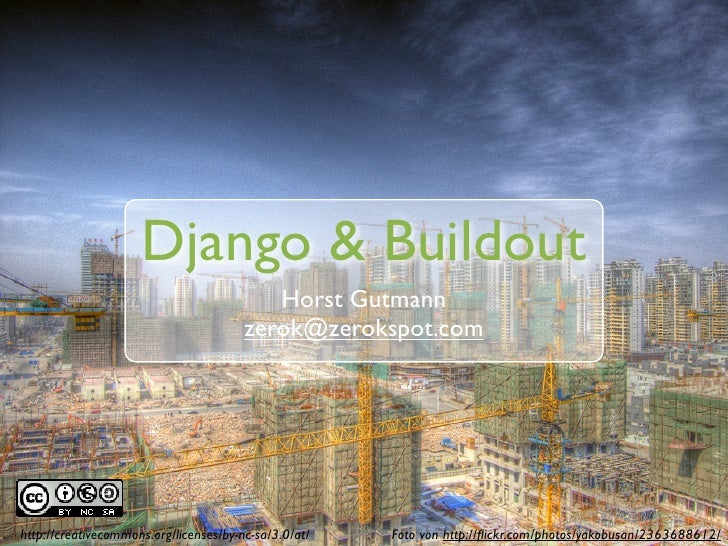 Django & Buildout