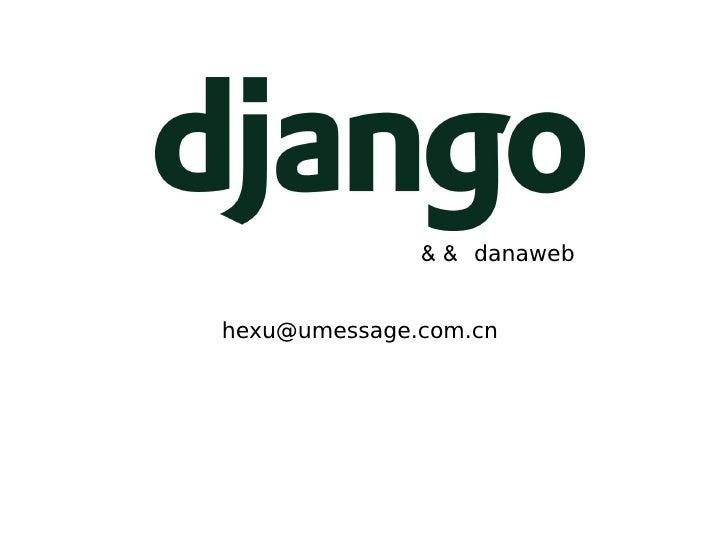 &&  danaweb [email_address]
