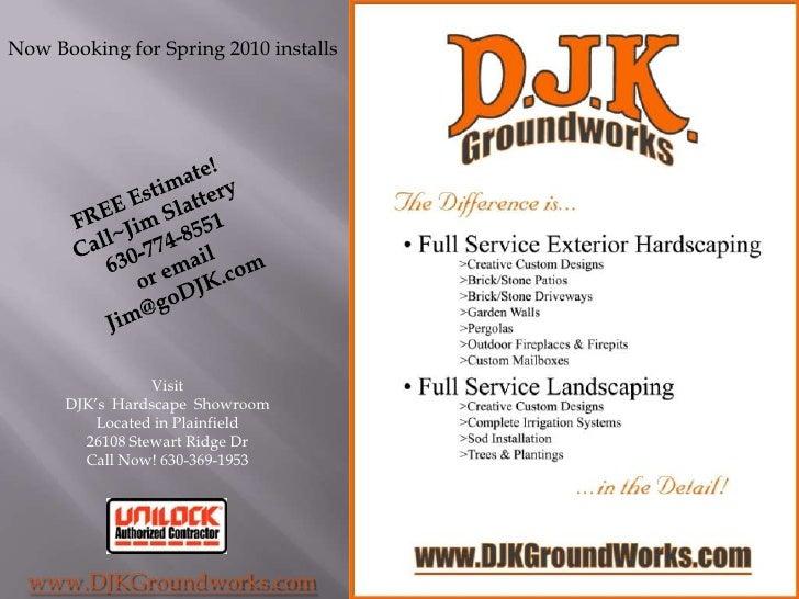 DJK Groundworks Presentation