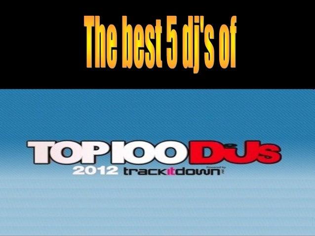 1- Armin Van Buuren DJ y productor de música trance. Su programa de radio '' A state of trance '' cuenta con mas de 15 mi...